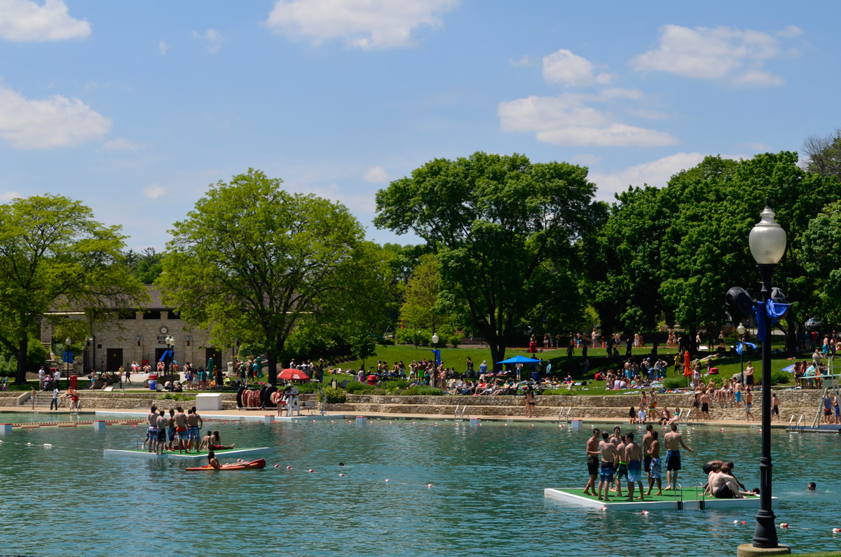 Radio Station Will Host Summer Pool Party At Centennial Beach Positively Naperville