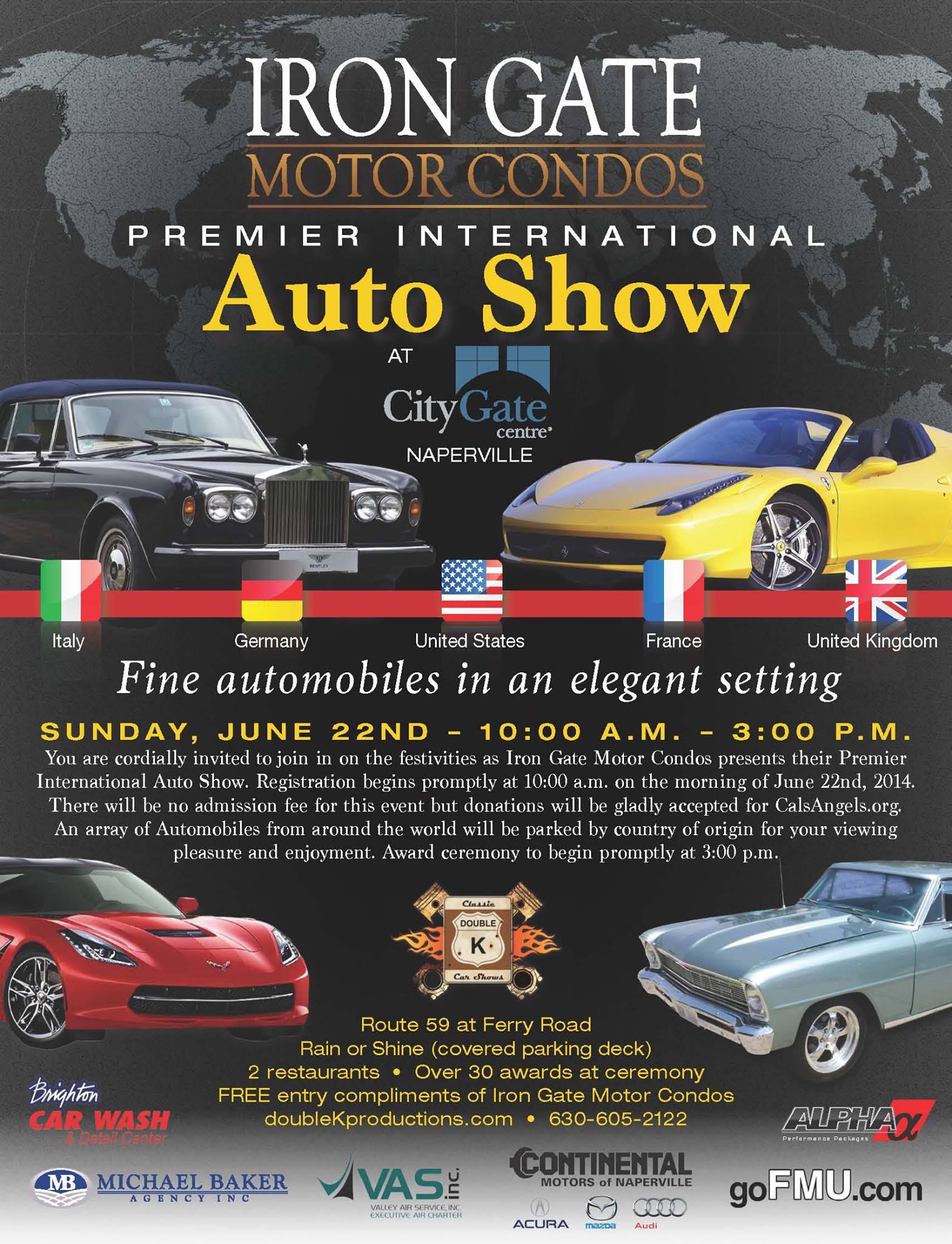 CityGate Car Show