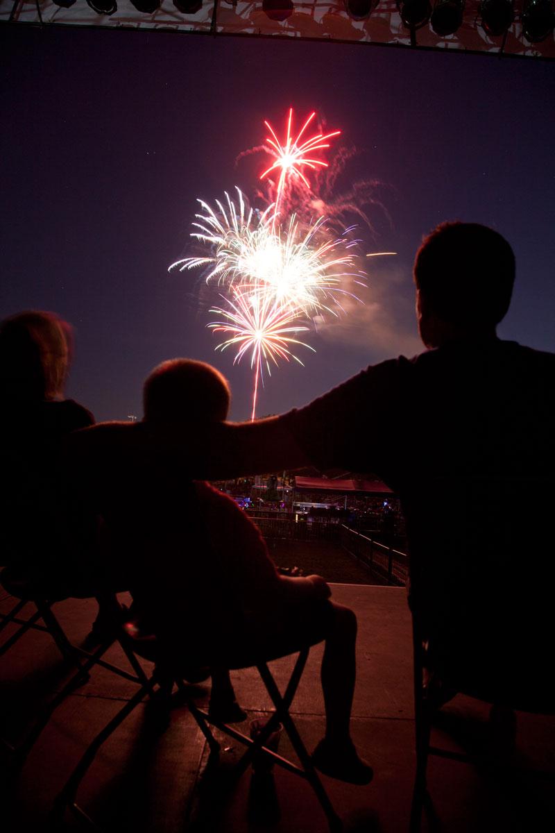 Ribfest Fireworks