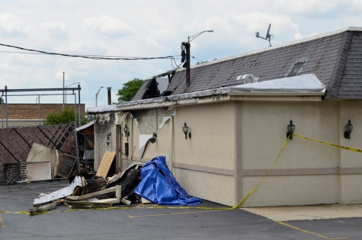 Grandma Sallys Family Restaurant Appears Gutted By Early Morning
