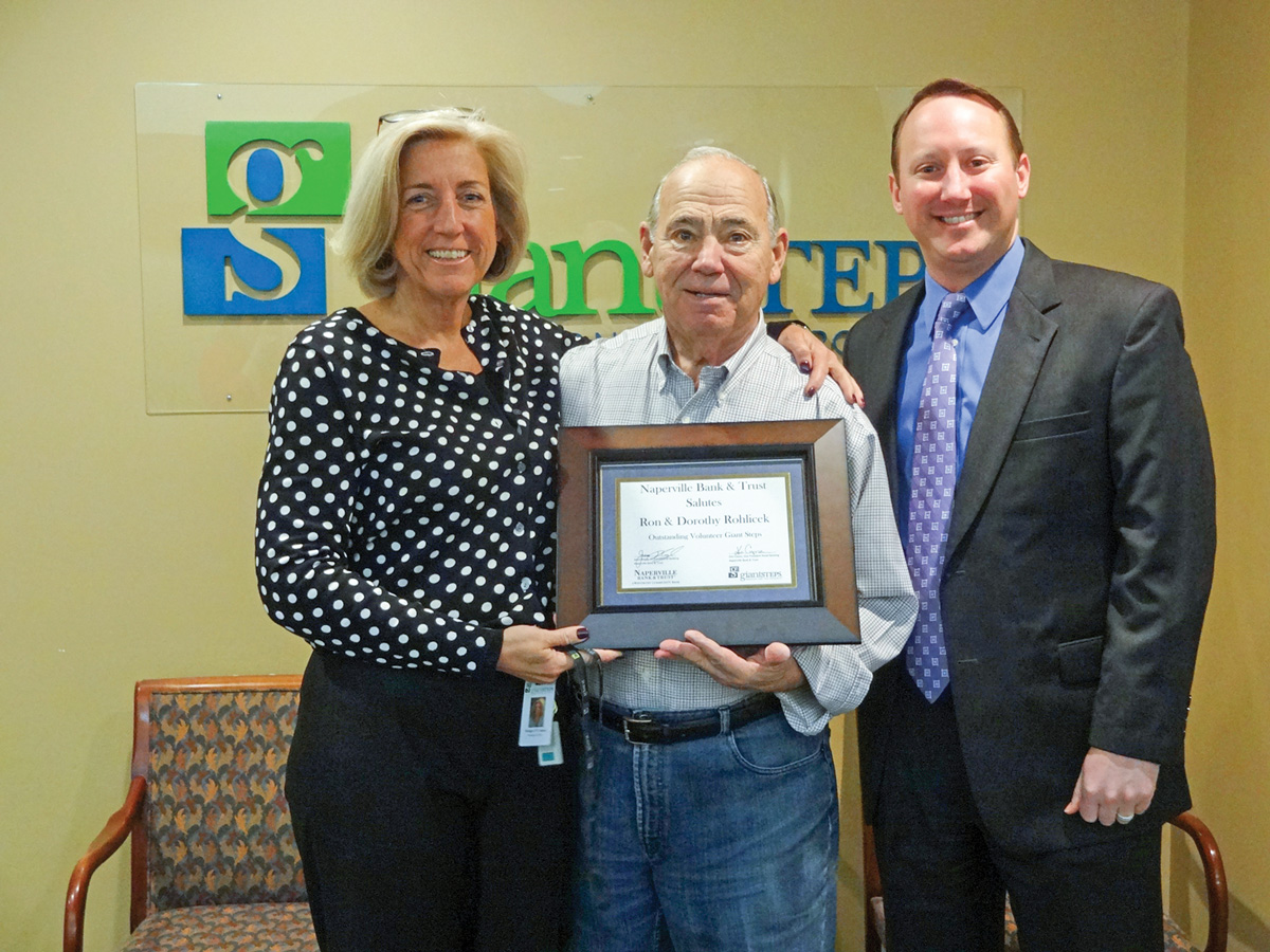 Naperville Bank & Trust salutes April Volunteer of the Month