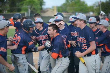 Baseball- NNHS at Wheaton South 276 May 15, 2015-2