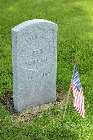 Memorial Day - Flag Placing Ceremony - Wheatland Township Cemetery - 22545 W. 104th Street, Naperville, Illinois - May 26, 2016