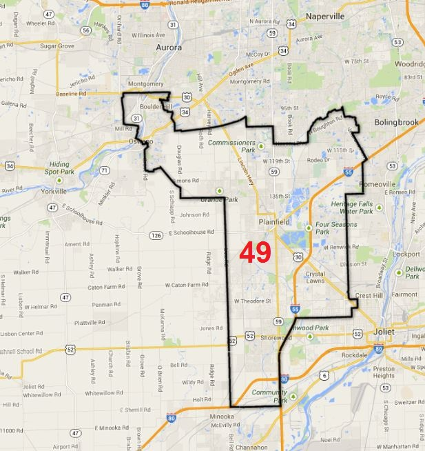 Statement from State Rep. Mike Fortner: 'I will not run for ... on il general assembly district map, il government district map, mn legislature district map, il house district map, il senate district map, il county district map, il congressional district map,
