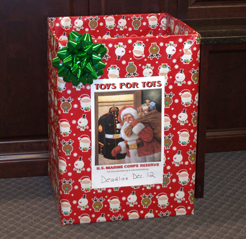 Toys For Tots Fcb Container Positively Naperville
