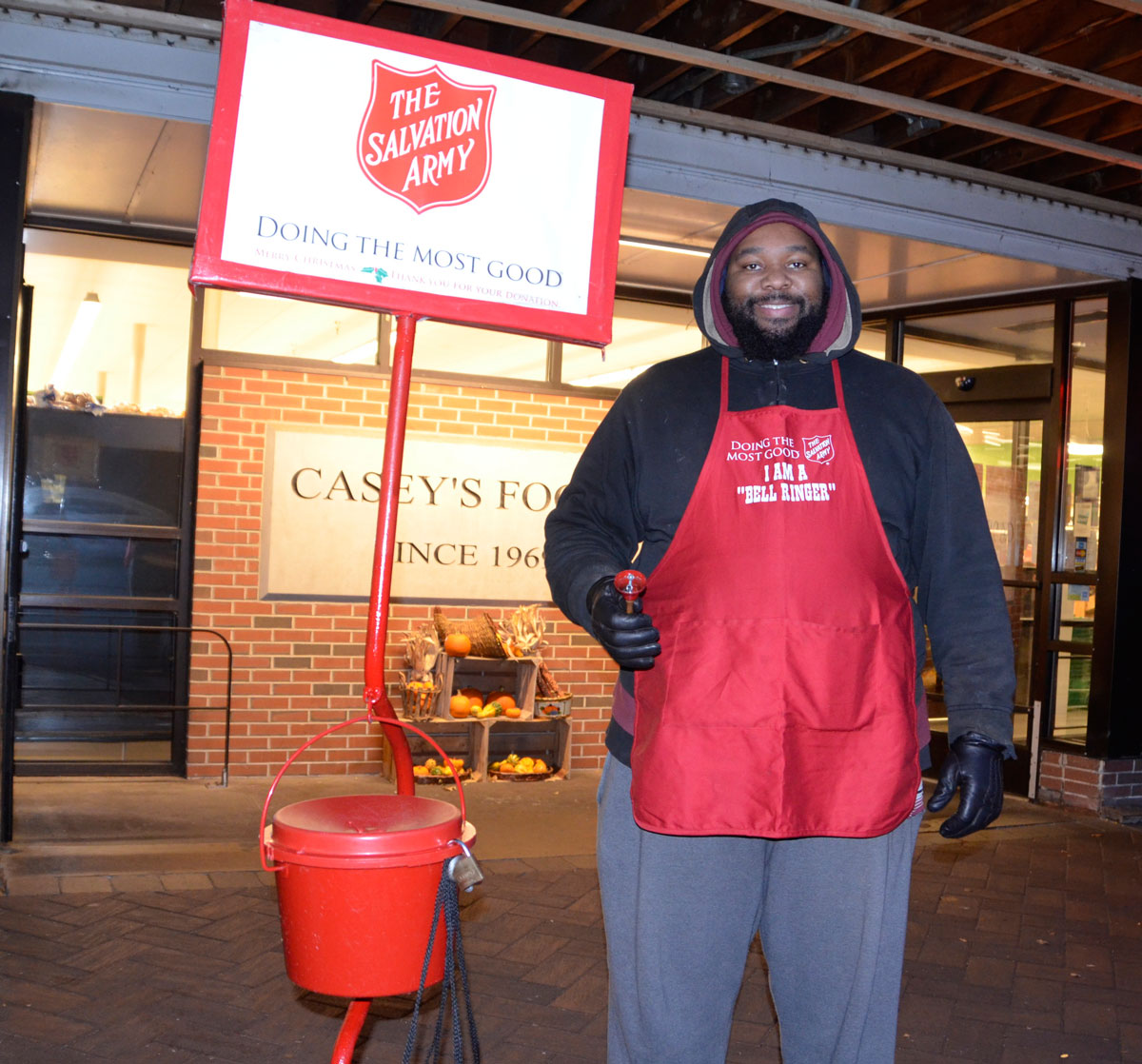 Volunteers needed for Salvation Army red kettle campaign
