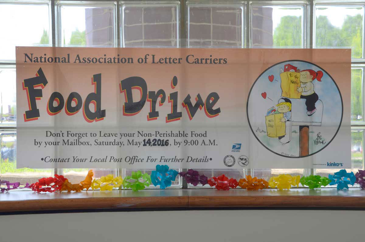 Letter carriers slate food collection event Saturday