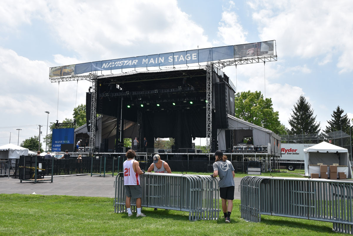Naperville Ribfest 2018 is set up in Knoch Park, tickets