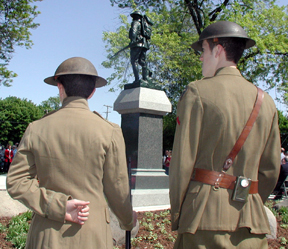 Naperville plays small part in international commemoration